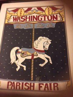Washington Parish Fair posters - several years