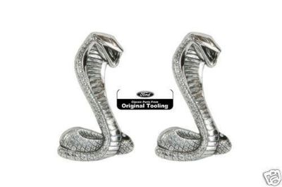 Buy 1968-1970 FORD SHELBY ORIG FENDER EMBLEMS COBRA SNAKE motorcycle in Lawrenceville, Georgia, US, for US $43.90