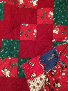 Christmas quilt for single size bed