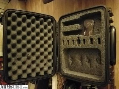 For Sale: CaseClub waterproof 2 pistol case and accessory pocket