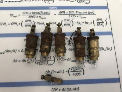 Screw Terminal Speedometer Light Bulb Holders