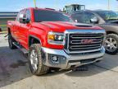 Salvage 2018 GMC SIERRA K25 SLT for Sale