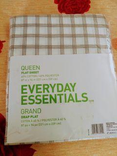 Queen size - flat sheet
