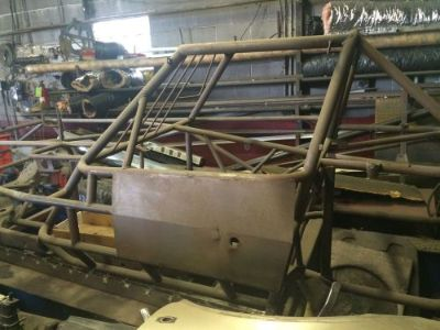 Purchase 2004 Brand New NO PAINT SKYROCKET dirt modified racing chassis motorcycle in Fort Madison, Iowa, United States, for US $2,250.00