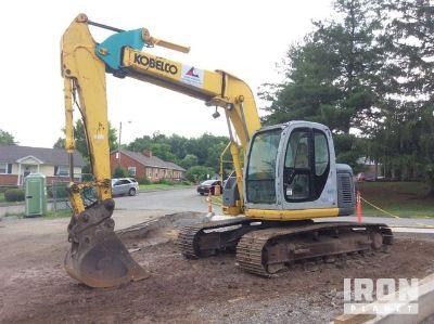 2006 Kobelco SK135SRLC-1E Track Excavator