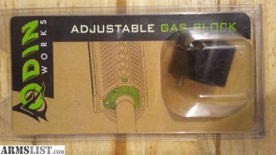 For Sale: Odin Works adjustable gas block ar 15