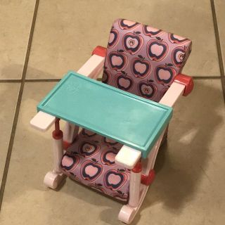 18 Our Generation Doll Clip On High Chair