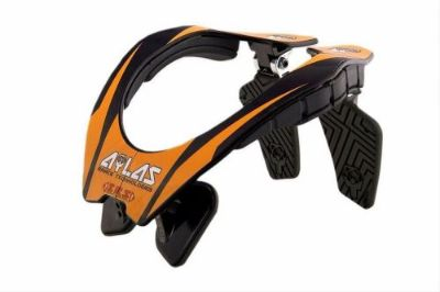 Find Atlas Original Neck Braces Orange Adult Small Motocross MX ATV TLD KTM Thor Fox motorcycle in Corona, California, United States, for US $199.95
