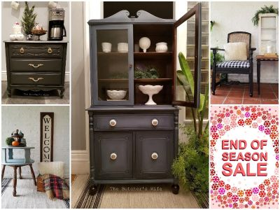 Refinished Furniture End of Season Sale