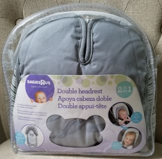 Never Used - Babies R Us Double Car Seat and Stroller Headrest