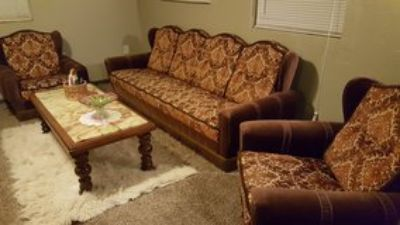 Antique Couch w/Chairs