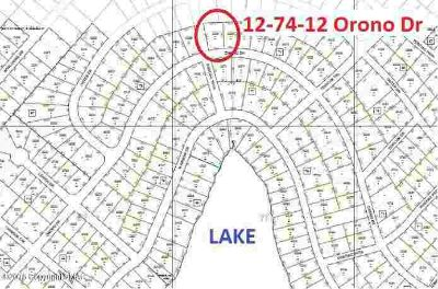 12-74-12 Orono Dr Pocono Lake, Building lot for sale in the