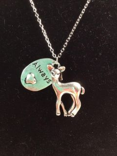 Harry Potter Doe Patronus Always Necklace *crossposted