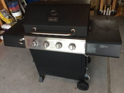 Dyna glow gas grill with cover charcoal Weber bbq barbecue