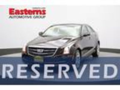 Used 2016 Cadillac ATS Sedan Cocoa Bronze Metallic, 18K miles