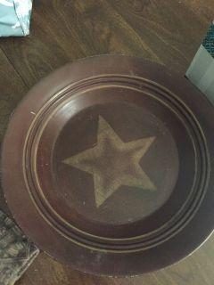 Metal decorative plate