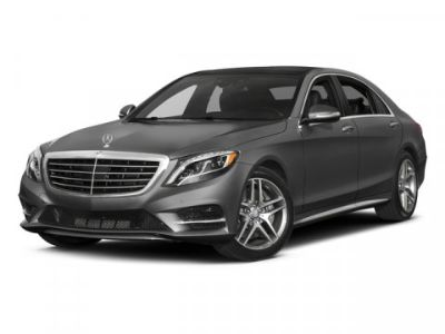 2017 Mercedes-Benz S-Class S550 4MATIC (Anthracite Blue Metallic)