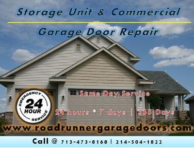 Commercial Storage Unit Garage Door Repair