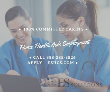 Dependable Home Care Services! Plenty of Home Health Aides Available!