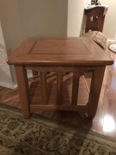 End table, used condition.