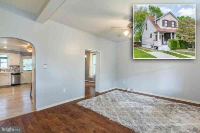 2816 Westfield Ave BALTIMORE Three BR, charming hamilton home
