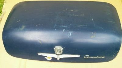 Purchase 1953 1954 FORD TRUNK Deck LID 53 54 motorcycle in Bristol, Pennsylvania, United States, for US $200.00