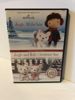 Hallmark double feature Jingle All the Way Jingle and Bells Christmas Star DVD movies