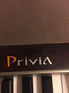Casio Privia PX100 full scale piano with 88 keys 3-d Studio live with Stand and Pedal