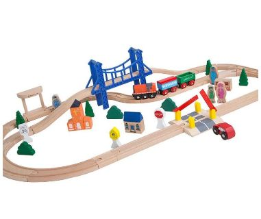 Looking for wooden trains and track pieces