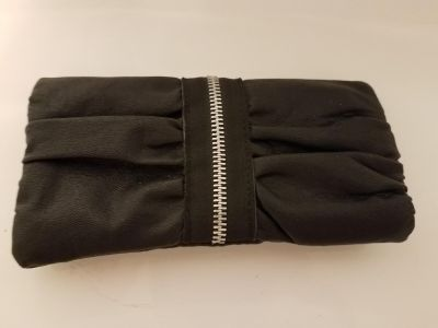Black and Silver Soft Wallet