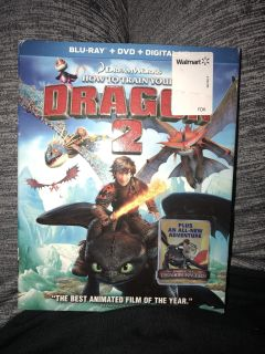 How to Train Your Dragon 2 Blu Ray and dvd $4