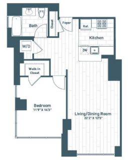 $7080 1 apartment in Jersey City