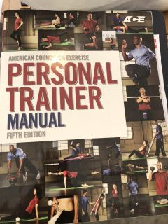 Ace personal training manuals