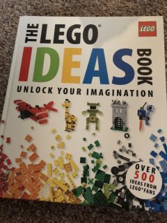 Hardcover 200 page LEGO ideas book