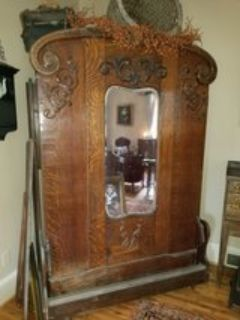 antique MURPHY BED