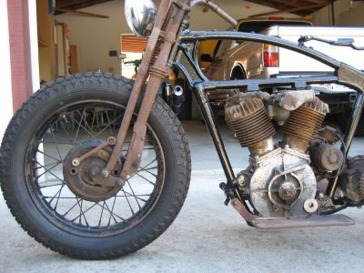 FS: 1929 Harley-Davidson JD Project