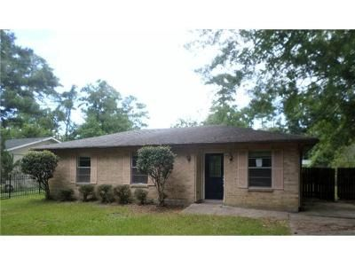 3 Bed 1 Bath Foreclosure Property in Slidell, LA 70460 - Saint Tammany Ave