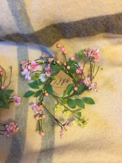 Brand new floral wreaths