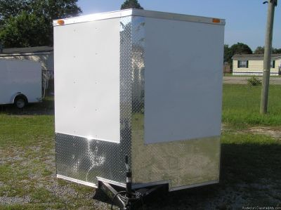 7 x 10 Enclosed Trailers with Extra Height