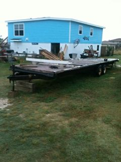 $1,000, 30 ft Flat Bed Trailer