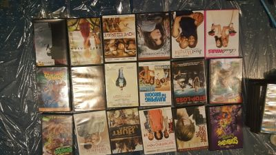 DVDs assorted