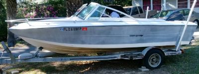 StingRay Super Sport with 115 Evinrude Outboard Motor