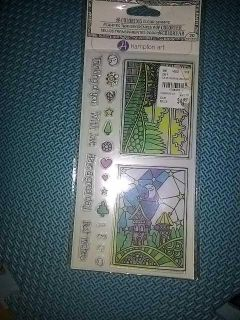 Clear stamps for stamp pad nwt