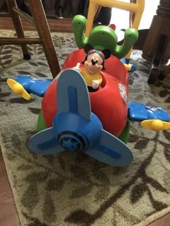 Mickey push and scoot toy
