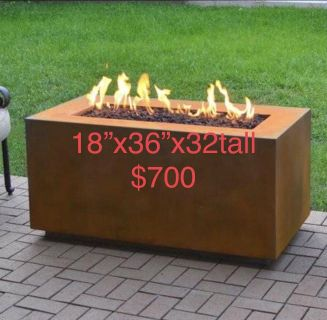 Custom made fire pits/tables