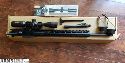 "For Sale: 20"" AR-15 Upper and Scope"