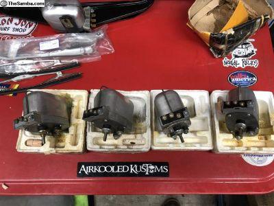 NOS early Ghia 56-57 wiper motors 6 volt