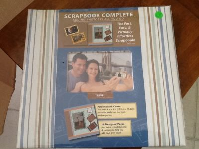 2 complete scrap booking kits.