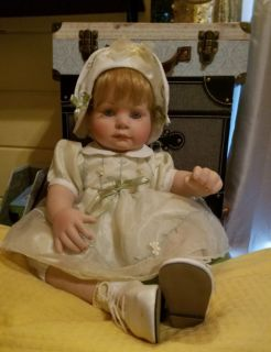 Porcelain Baby Doll, Numbered, Limited Edition