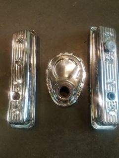 350 valve & timing covers